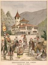 Bosnian Pavilion Exposition Universal Paris 1900