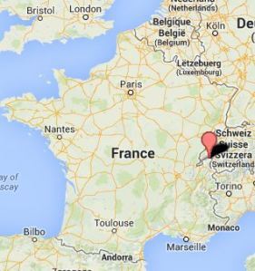 Ville d'Evian Map