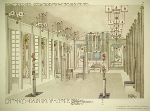 C.R. Mackintosh Music Room House for an Art Lover