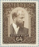 1932 Gustav Klimt 1862-1918 painter Stamp