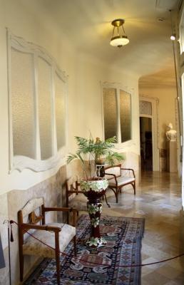 The Pedrera Apartment Corridor