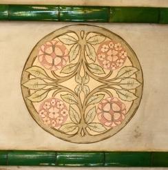 Painted Ceiling Institut Pere Mata Pavilion 6 Reus