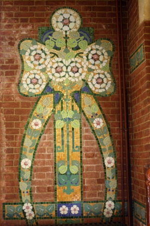 Mosaics Institut Pere Mata Pavilion 6 Reus